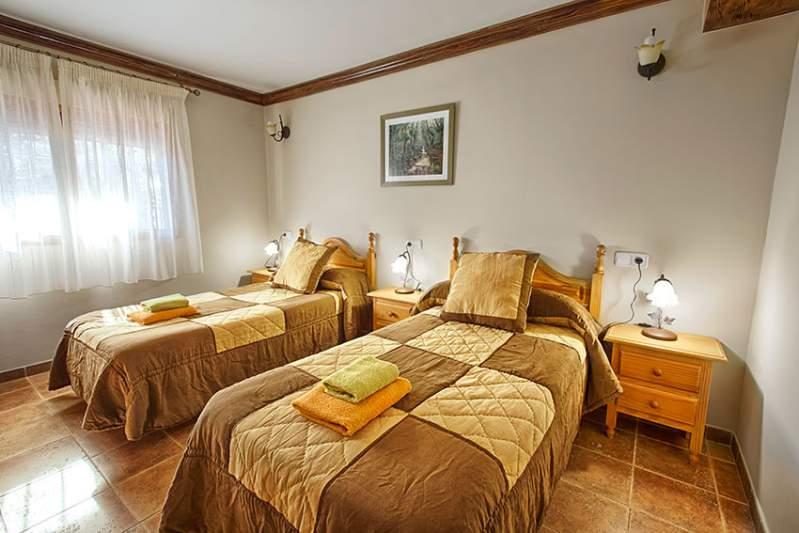 Casa Letur: Dormitorios
