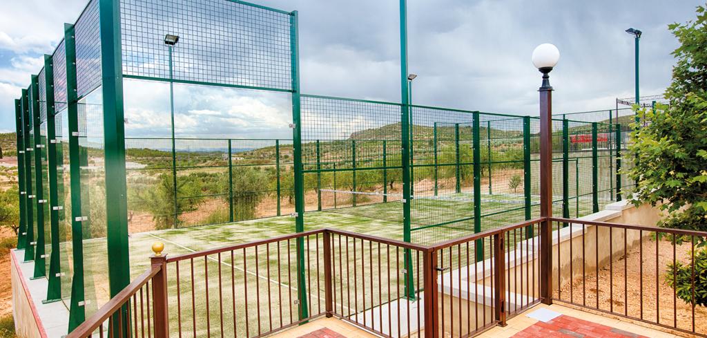 Complejo La Tejera: Pádel y pistas deportivas