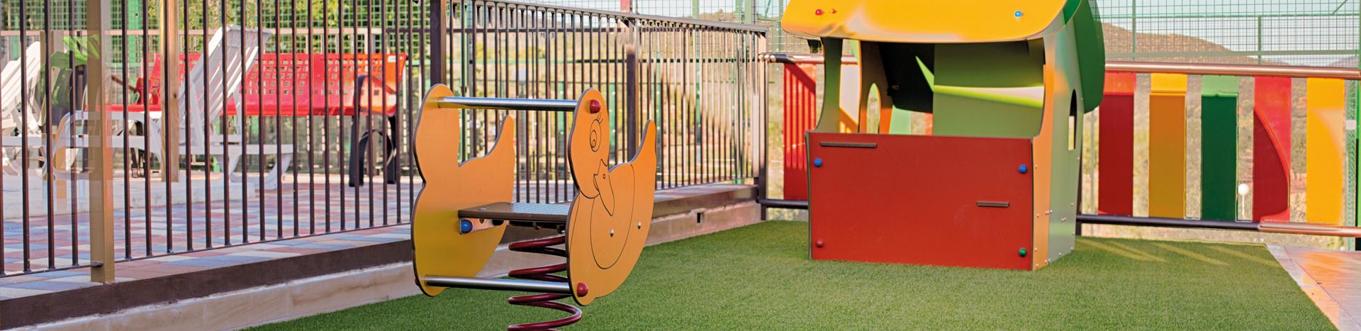 Complejo La Tejera: Zonas Infantiles